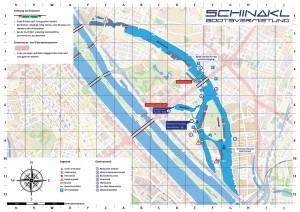 Seekarte-Alte Donau